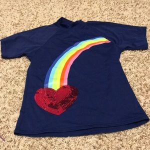 Worn only once girl size 10 Land's End rash guard